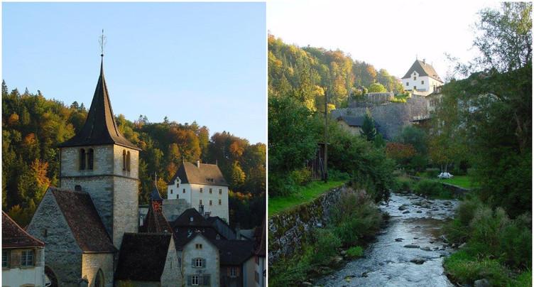 Valangin parmi les plus beaux villages de Suisse