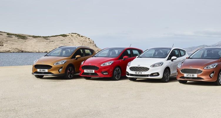 Venez découvrir votre nouvelle Ford Fiesta au Garage des Trois Rois SA