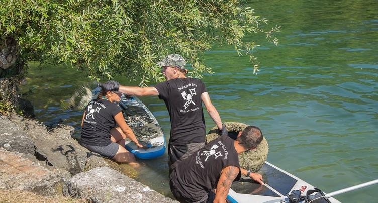Mission nettoyage du lac et ses rives