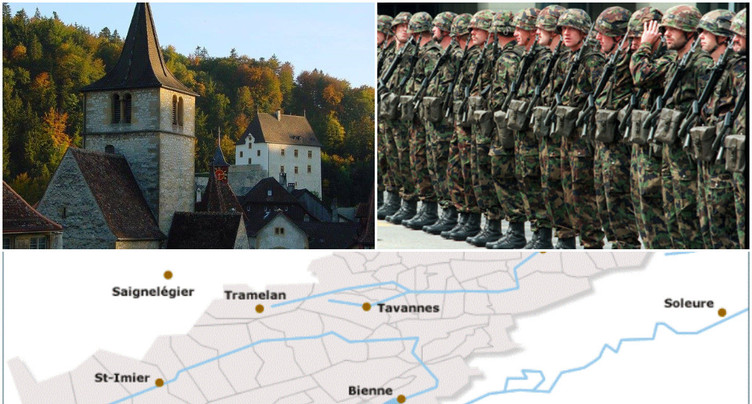 Jura bernois, armée suisse, labels touristiques