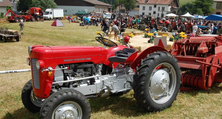 La deuxième vie d'anciens tracteurs