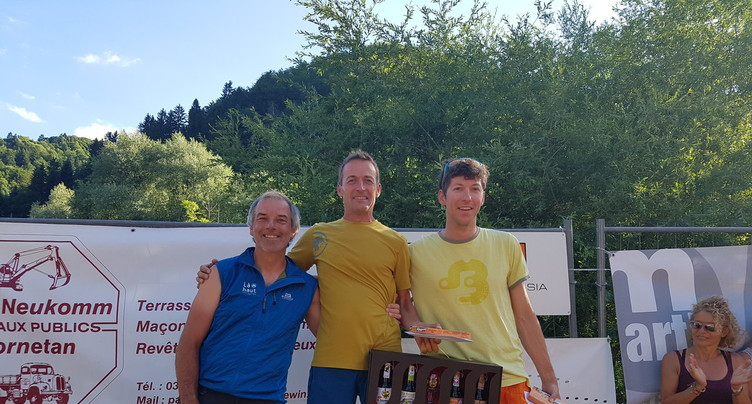Christian Voiblet survole la Jura'ltitude