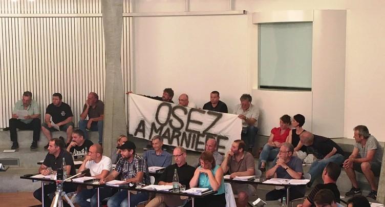 Un long débat sur La Marnière des Reussilles