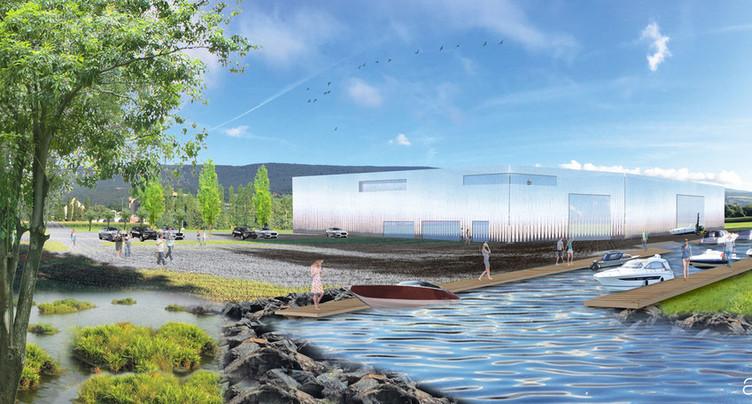 Un projet de port à sec à Cornaux