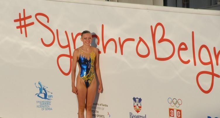 Margaux Varesio septième en natation synchronisée