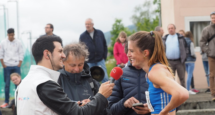 Lea Sprunger explose le record de Suisse à La Chaux-de-Fonds