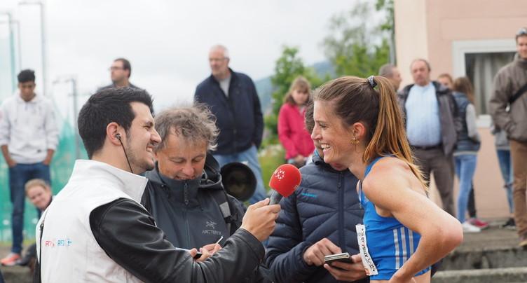 Nouveau record de Suisse pour Lea Sprunger