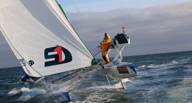Yvan Bourgnon veut aller contre vents et courants