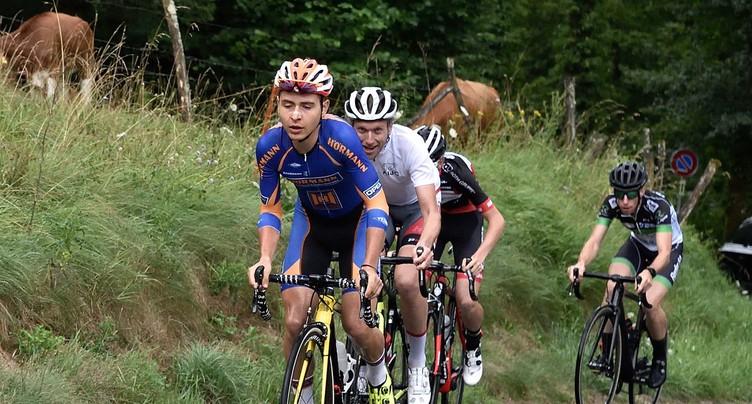 Justin Paroz s'adjuge la Route des Hautes-Vallées 2017