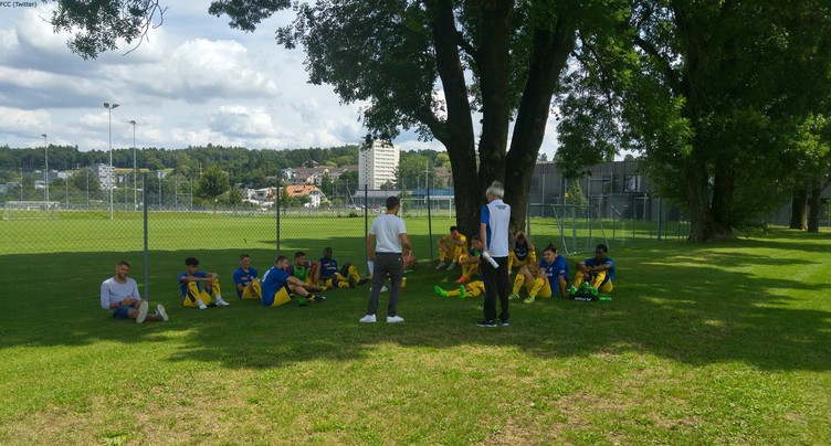 Match nul entre le FCC et Besançon Football