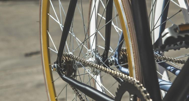 A vélo au travail pour montrer l'exemple