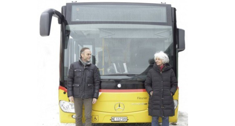 De l'art de rue… en bus