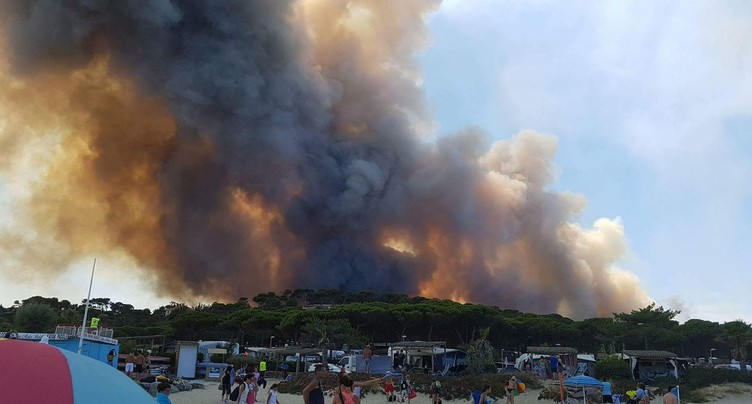Incendies en France: des Jurassiens témoignent