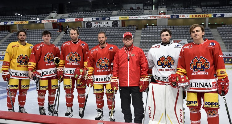 Le HC Bienne a griffé à nouveau la glace de la Tissot Arena