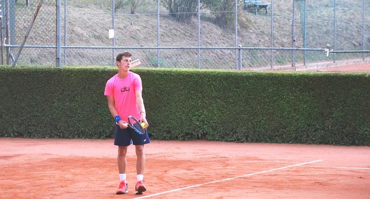 Pas d'exploit pour le jeune Damien Wenger à l'Open d'Australie