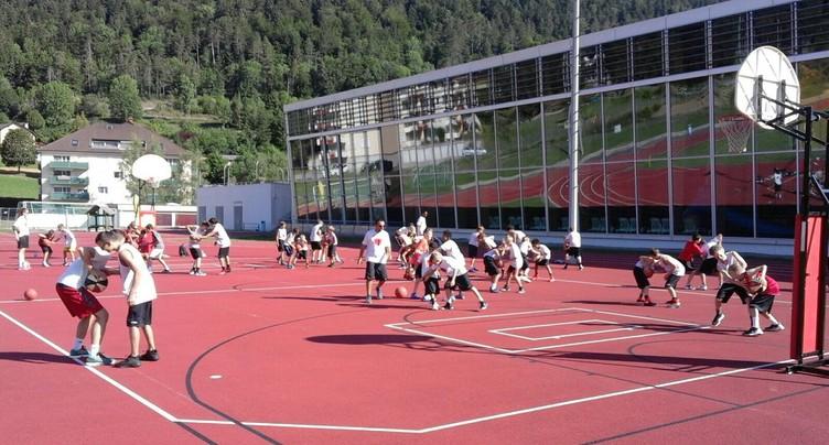Un camp 100% dédié au basket