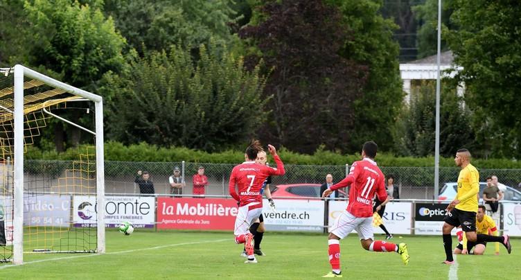Le FC Lugano balaie le FC Bassecourt