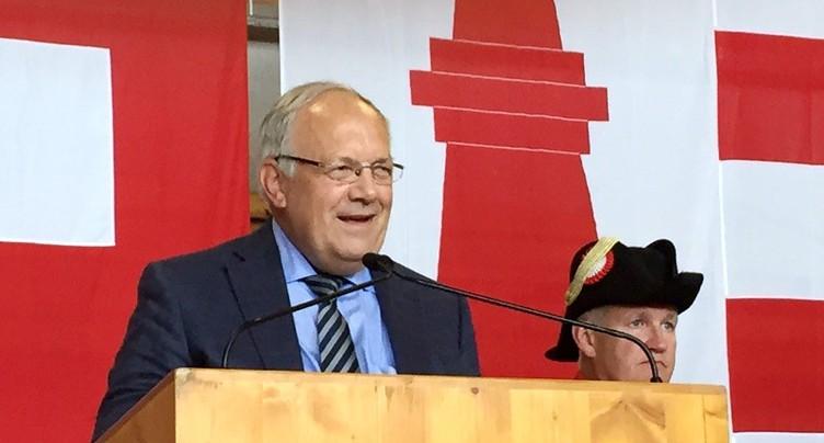 Johann Schneider-Amman quittera le Conseil fédéral