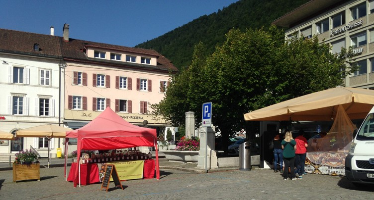 La place du Marché prépare sa mue à St-Imier