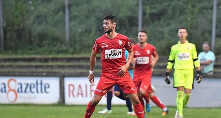 Une première défaite pour le FC Bienne