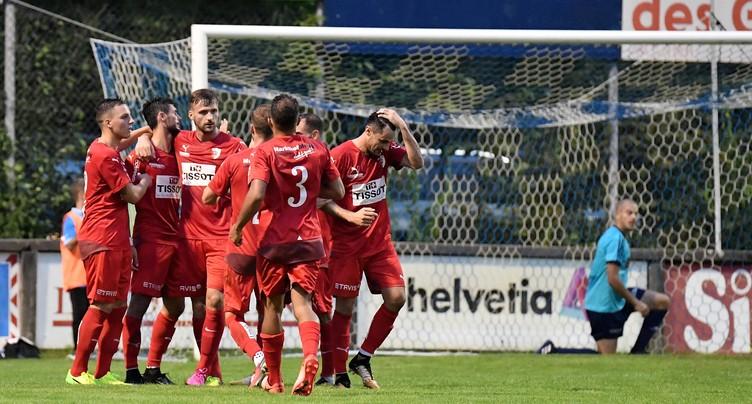 Le FC Bienne en mode diesel