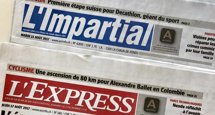 L'Express et L'Impartial ne feront qu'un seul journal
