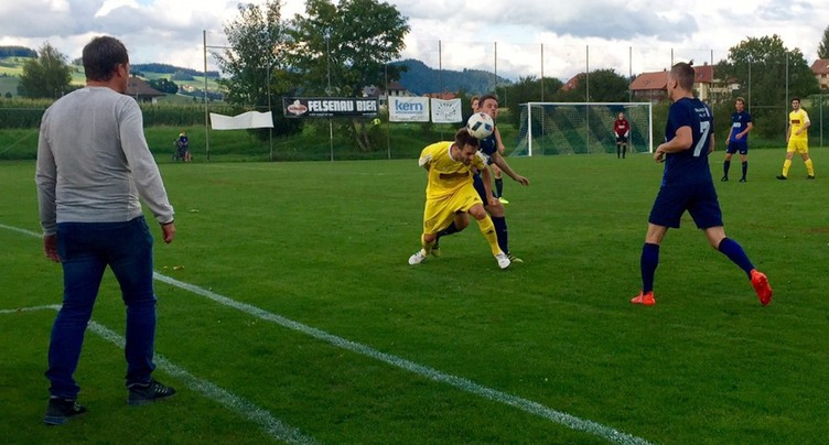 Premier point pour le FC Moutier