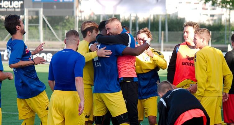 Le FC La Chaux-de-Fonds déroule