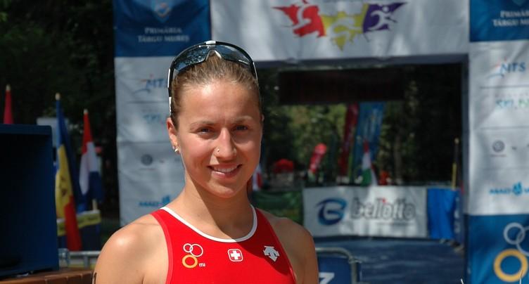 Loanne Duvoisin s'adjuge le triathlon de Morat