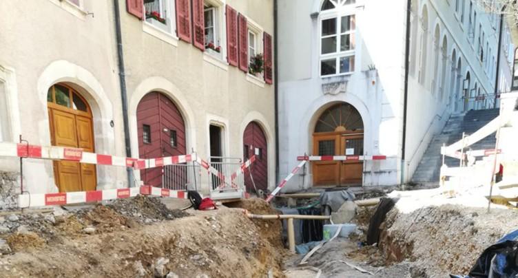Un cimetière médiéval sort de terre à St-Ursanne