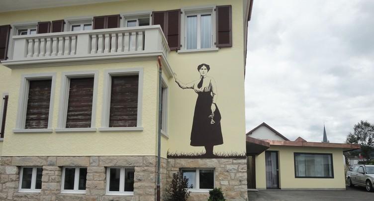 Une fresque de la Petite Gilberte sera inaugurée à Courgenay