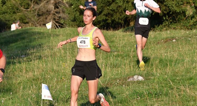 Eleonore Paupe 2e au Trail de Pietchiesson