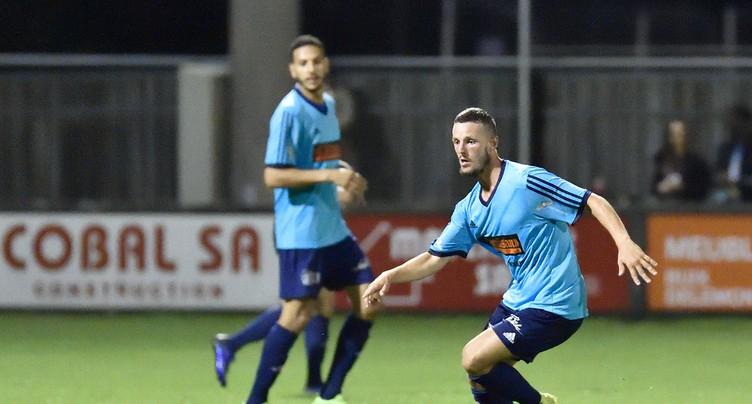 Une troisième victoire pour le FC Moutier