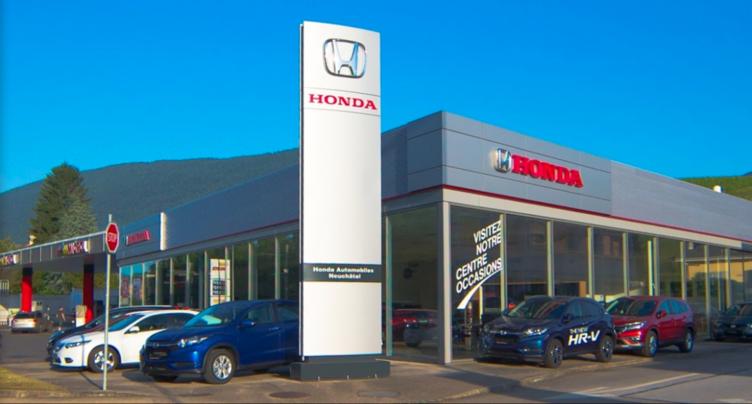 Journées portes ouvertes les 14, 15, 16 septembre chez Honda Automobiles Boudry