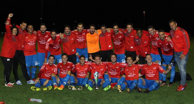 Le FC Courroux écrase Glovelier