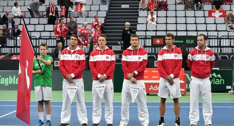 Coupe Davis : la Suisse recevra la Suède à Bienne