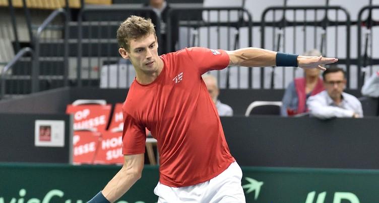 La Suisse menée en Coupe Davis