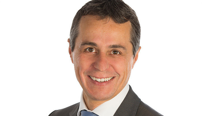 Ignazio Cassis succède à Didier Burkhalter