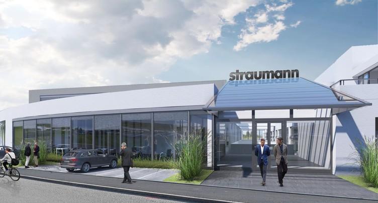Straumann dévoile les contours de ses futurs locaux