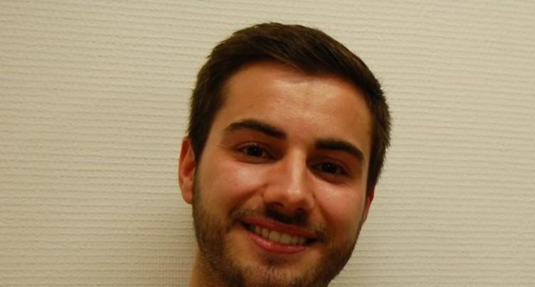 Quentin di Meo vice-président du PLRN