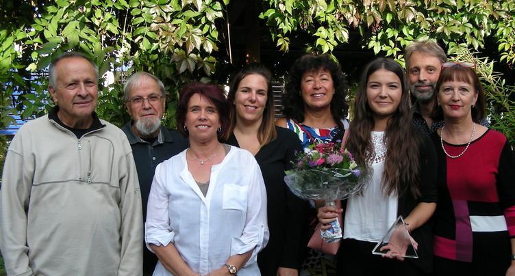 Alzheimer Jura récompense une étudiante