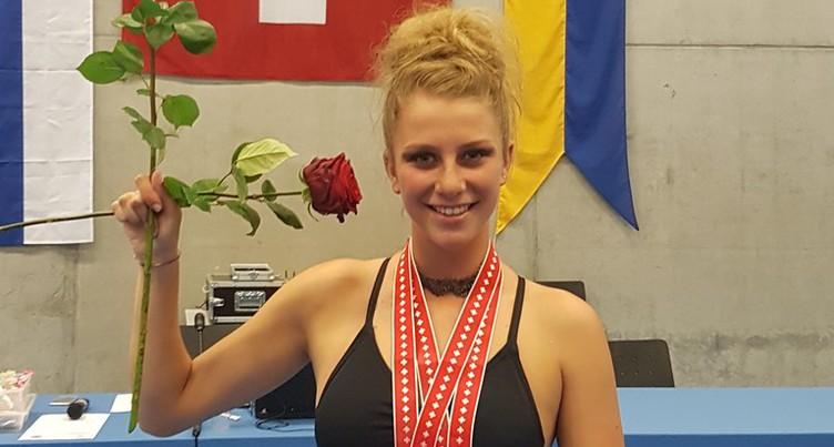 Léa Jeambrun championne de Suisse