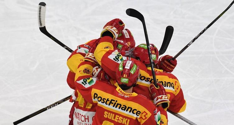Victoire du HC Bienne