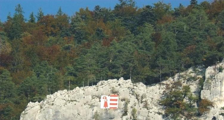 Le Raimeux décoré aux couleurs du Jura