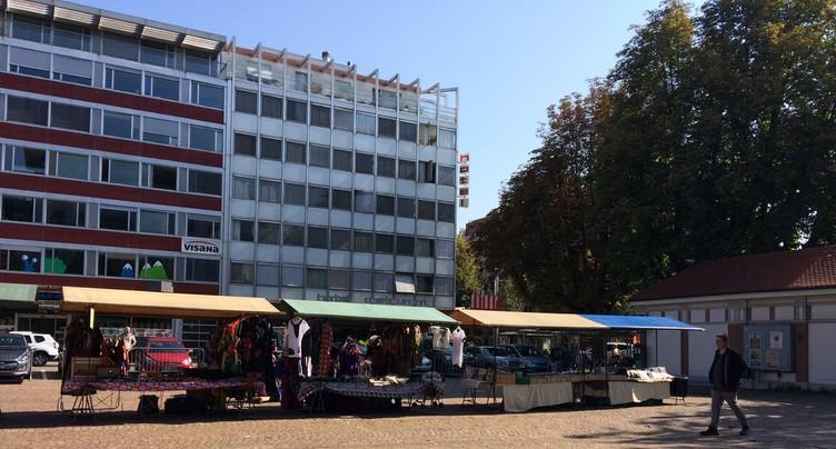 Le marché biennois ne restera pas à la place du Marché-Neuf