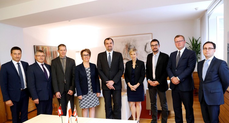 L'ambassadeur de Pologne en Suisse en visite dans le Jura