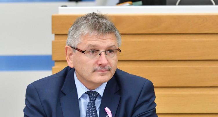 Charles Juillard est candidat à la vice-présidence du PDC suisse