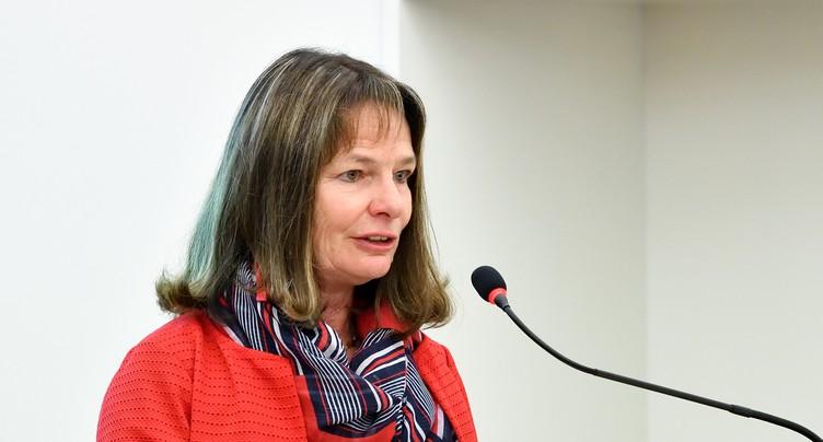 Françoise Chaignat va temporairement diriger le PDC Jura