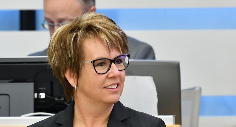 Nathalie Barthoulot au Kosovo avec la Swisscoy