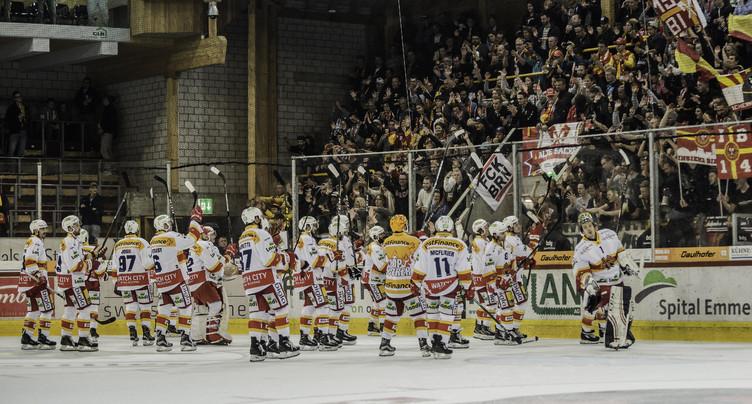 Le HC Bienne joue à se faire peur